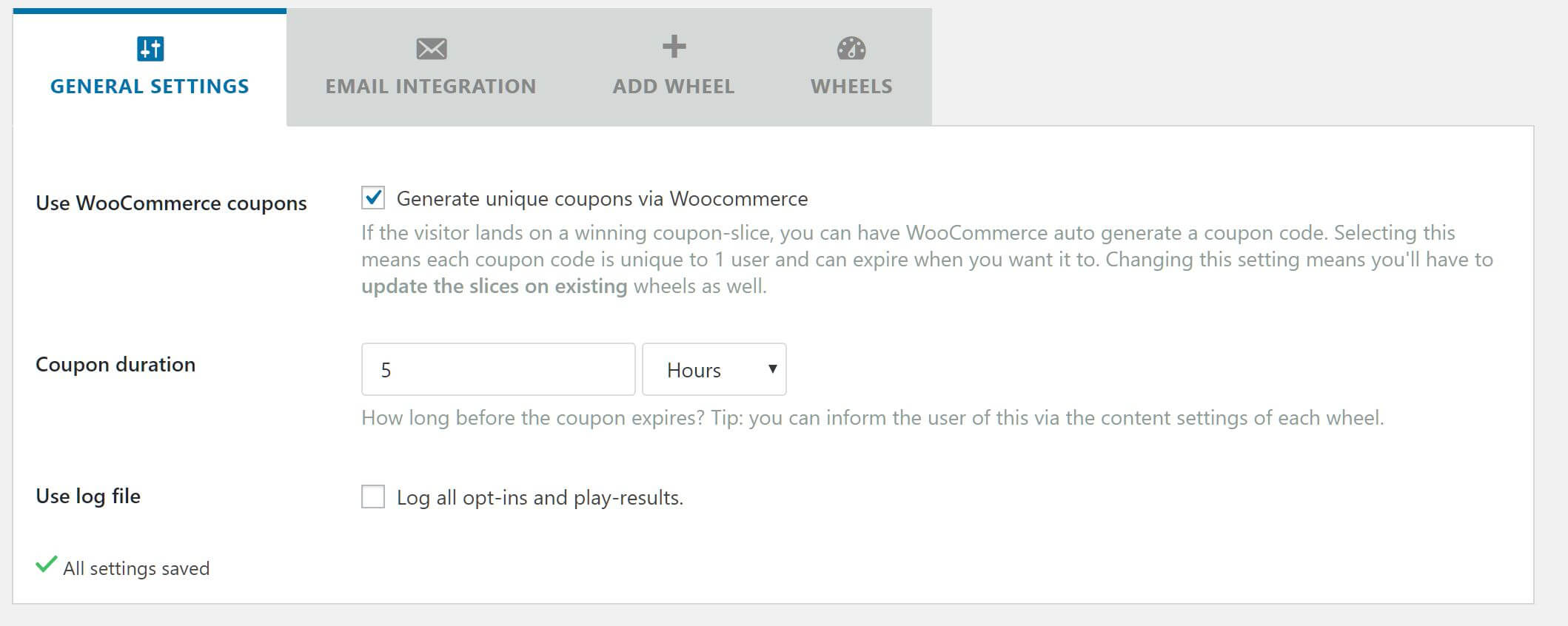 WP Optin Wheel: Gamified optin tool for WooCommerce & WordPress with spin the wheel game. | Prosyscom Tech 5